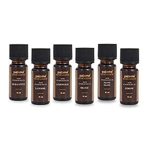 Pajoma Golden Line Duftöl Set Made in Germany Raumduft für Duftlampe Aromatherapie oder Diffuser (Ätherische Öle)