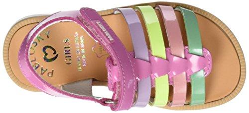 Pablosky  440689, sandales fille Multicolore (1)