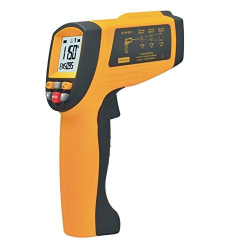Infrarot-Thermometer, YH-THINKING berührungslose Laser Handscanner industrielle 50: 1 IR Infrarot Digital Thermometer Temperaturbereich -18~1150℃(0~2102℉)