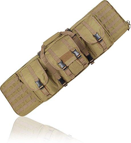 Hochwertig gepolsterte Waffentasche für Gewehre 100 cm Coyote