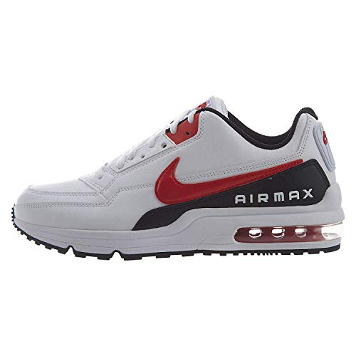Nike Herren AIR MAX LTD 3 Traillaufschuhe, Mehrfarbig (White/University Red-Black 100), 44 EU (Herren Nike Air Schuhe)