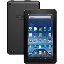 """Tablette Fire, écran 7"""" (17,7 cm), Wi-Fi, 8 Go (Noir) - avec offres spéciales"""