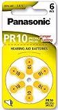 Panasonic PR10 Relais Hörgerätebatterie - PR10 Relais Akku: hearing-aid Zink Air 65 mAh 1,4 V PR230H pza230h 10 Blister x 230 AP Gewicht 0,3 g 3,6 x 5,8 mm A10 S10 etc.