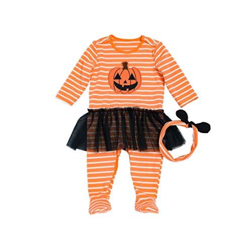 Sronjn halloween neonato ragazze costumi del bambino del fumetto attrezzatura pagliaccetto infantile tutina come immagine