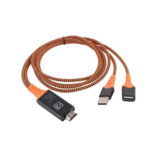 Janly Typ C zu HDMI HDTV AV TV Kabel Adapter für Samsung Galaxy/IPhone Series PC
