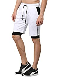 Skult By Shahid Kapoor Men's Cotton Shorts - B076BMB8NJ