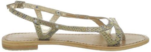 Les Tropéziennes par M. Belarbi Isatis, Sandales femme Beige (Serpent Beige)