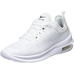 Nike WMNS Air Max Axis, Chaussures de Running Compétition Femme, Blanc White/Black 100, 38 EU