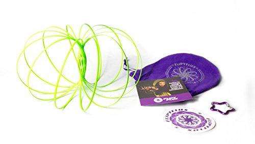 Flippy Flux Fluor Grün ... aus einer anderen dimension. Fluoreszierende, die im dunkeln leuchten, magisches Spielzeug.