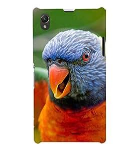 EPICCASE terrific parrot Mobile Back Case Cover For Sony Xperia Z1 (Designer Case)