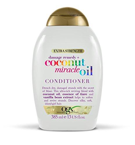 Tahiti-vanille-blume (Zusätzliche Kraft ogx, Schäden Remedy + Coconut Miracle Öl Conditioner 385ml)