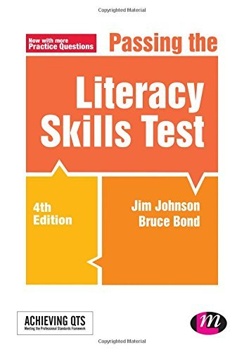 Passing the Literacy Skills Test (Achieving QTS Series) by Johnson, Jim, Bond, Bruce (February 17, 2015) Paperback