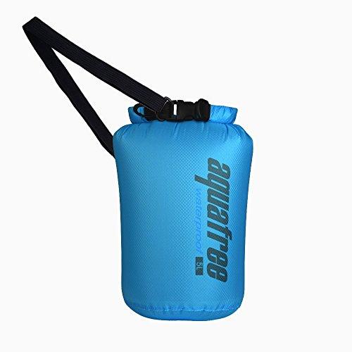 Aquafree Ultra Light Dry Bag. Die meisten Amazing Wasserdichte Tasche Blau 5L