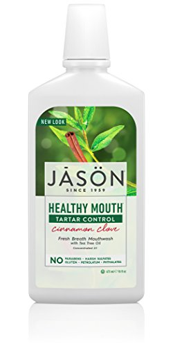 JASON - Gesunden Mund MOUTHWASH 473 ML (Jason Vera Gel Aloe)