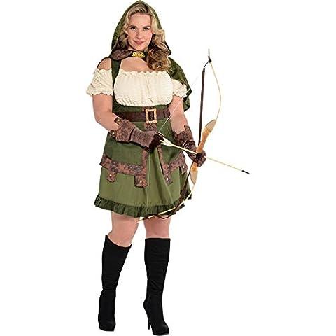 Robin Hood Kostüm Damen Gr. Plus