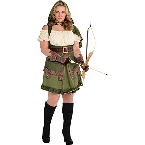 Image is loading Robin-Hood-Ladies-Fancy-Dress-Thief-Medieval-Womens-  sc 1 st  eBay & Robin Hood Ladies Fancy Dress Thief Medieval Womens Adults Costume ...