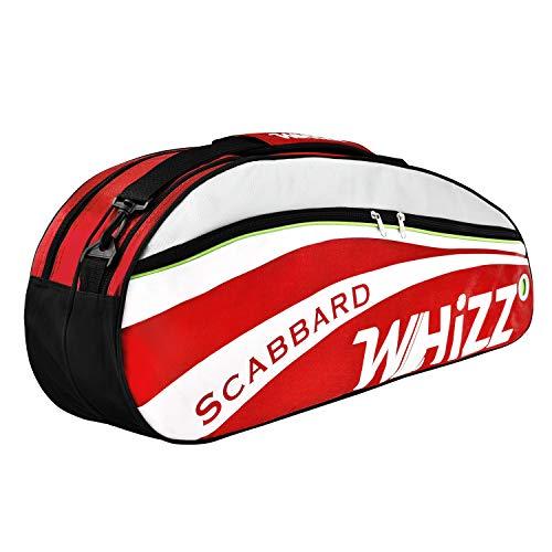 Whizz Badminton Squash Tennis Schlägertasche Hülle Racquet Bag - Rot