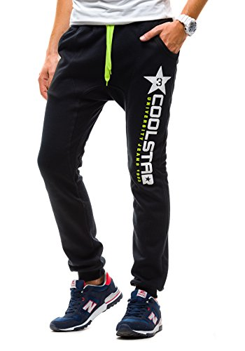 BOLF Men's Joggers Tracksuit Bottoms Sweatpants Plain Camo Sport Mix [6F6]