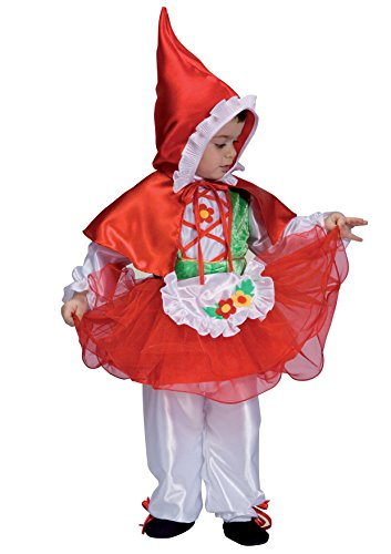 ciao 14525 costume petit chaperon rouge 2-3 (Petit Chaperon Rouge Kostüm)