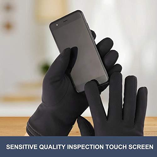 zaote Guanti Ciclismo, guanti caldi di inverno alta stirata Touch Screen Gloves antivento Guanti equitazione impermeabile per gli uomini delightfu