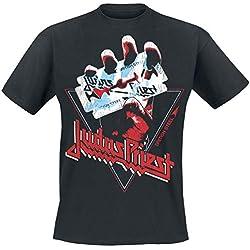 Judas Priest British Steel - Triangle Camiseta Negro