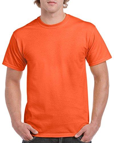 Semi-Trucks auf American Apparel Fine Jersey Shirt Orange
