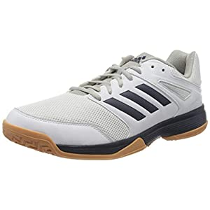 adidas Herren Performance Speedcourt Ef2623 Volleyballschuhe, Bianco