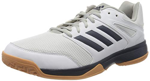 adidas Herren Performance Speedcourt Volleyballschuhe, Weiß (White EF2623), 46 2/3 EU
