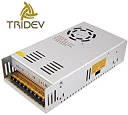 12V 30A 360W DC Switching Switch Power Supply for LED Strip, CCTV, 12Volt 30Amp (by Tridev Traders)