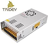 #10: 12V 30A 360W DC Switching Switch Power Supply for LED Strip, CCTV, 12Volt 30Amp (by Tridev Traders)