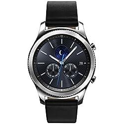 "Samsung Gear S3 Classic - Smartwatch Tizen (Pantalla 1.3"" Super AMOLED 360x360, GPS Integrado, batería 380 mAh, Altavoz Integrado), Plateado- Version española"