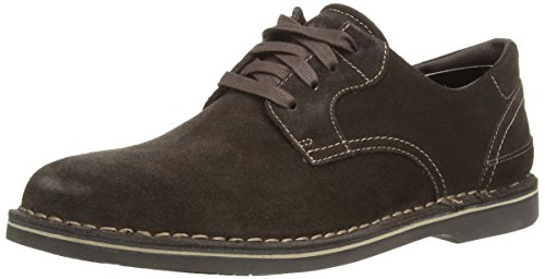 Rockport Urban Ease Plain Toe, Oxford Homme Marron (Dark Bitter Chocolate Suede)