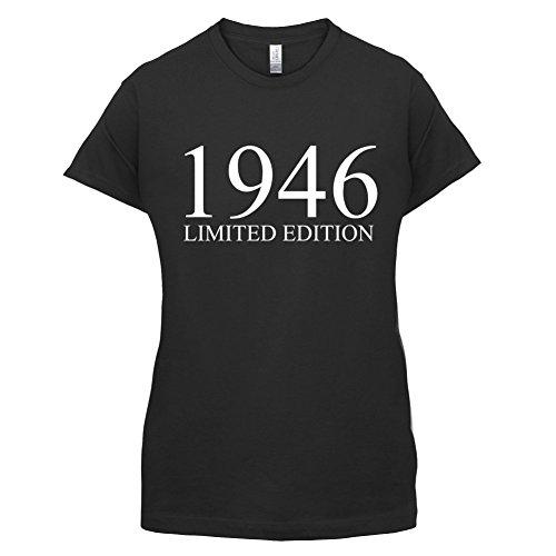 1946 Limierte Auflage / Limited Edition - 71. Geburtstag - Damen T-Shirt - 14 Farben Schwarz