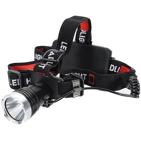 MaMaison007 XML T6 LED linterna recargable linterna para ciclismo bici bicicleta