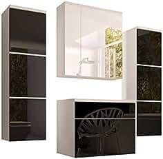 Suchergebnis auf Amazon.de für: Badmöbel Set Modern Schwarz ...