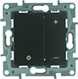 Legrand LEG96638 Niloe - Interruptor con regulador de intensidad, color gris