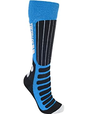Trespass - Gateway Ski Socks Kids, color gerbera