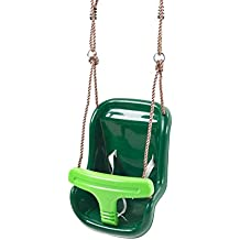 Deluxe Baby Swing Seat - with click-release secure safety system