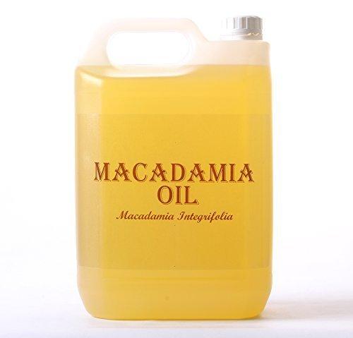 Aceite Vegetal de Macadamia - 5 Litros - 100% Puro