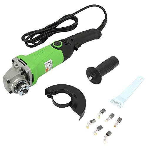 Amoladora angular 1350W Velocidad variable Handheld Electric Angle Amoladora Herramienta eléctrica para pulir la perforación de corte(Normativa europea 110-220V.)