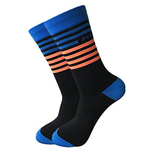 boastvi Klassische Sport Socken, Radsportsocken, Hochwertige Kompressionsstrümpfe für Damen und Herren, Professionelle Atmungsaktive athletische Söckchen für Sport, Laufen, Tennis -