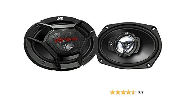 Jvc Cs Dr6930 3 Wege Koaxial Lautsprecher 15 X 23 Cm Schwarz 2 Stück Audio Hifi