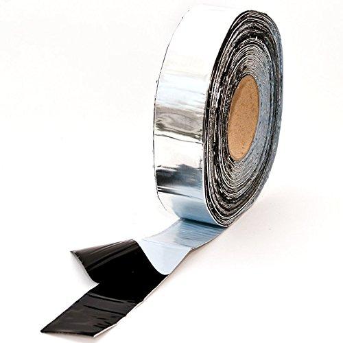 25m Alu Butyldichtband, Montageband, Dichtungsband, selbstklebend, Butyl Klebeband, Breite: 50mm