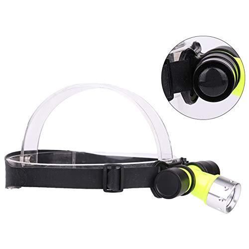 Tauchen Scheinwerfer, 500lm LED Unterwasser Wasserdichte Tauch Taschenlampe Kopf Licht Lampe Taschenlampe