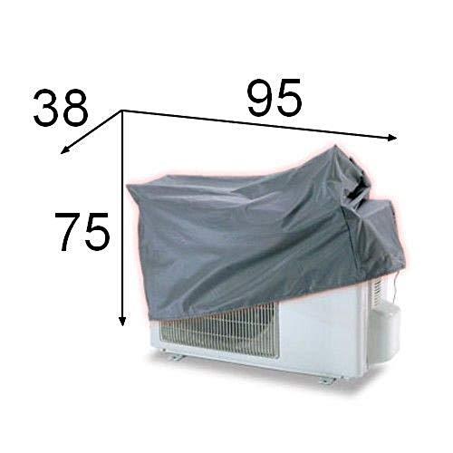 Telo copri climatizzatore/condizionatore cappottina esterno (95 x 75 x 38)
