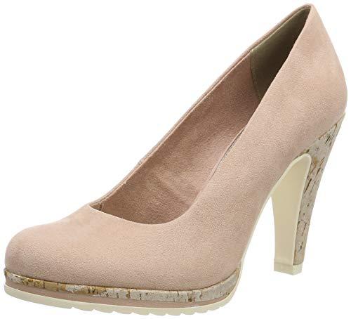 Marco Tozzi 2-2-22412-32, Zapatos con Plataforma para Mujer, Rosa Rose 521, 40 EU
