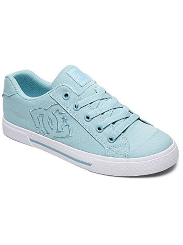 DC Shoes Trase TX Se Zapatillas Mujer, Gris (Chambray), 39 EU (6 UK)