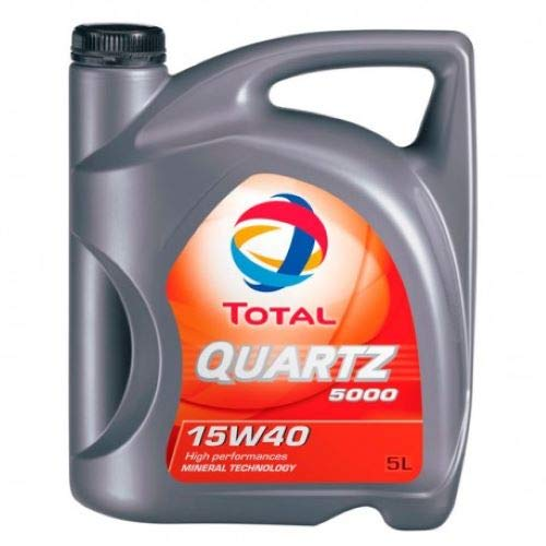TOTAL TO5D15405 Quartz 5000 15W40 Diesel 5L