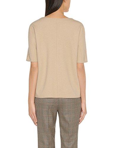 Marc Cain Collections Fc 41.20 J05, Sweat-Shirt Femme Beige - Beige (grain 621)