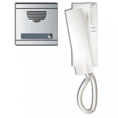 Tegui kits audio convl. - Kit portero a1 con placa+telefono serie 7